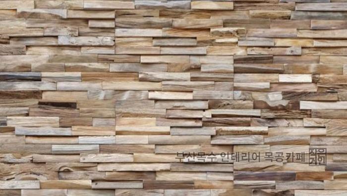 고재를 활용한 빈티지인테리어 벽면