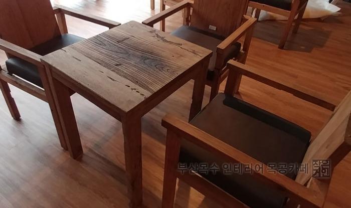부산목수 인테리어 목공카페 해운대 목공작업장