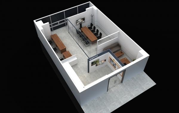 해운대 센텀시티 사무실 인테리어 계획1